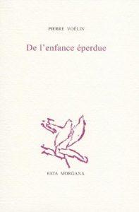 enfance eperdue 197x300 - Focus sur la 25e Présélection - De l'enfance éperdue - Pierre Voélin