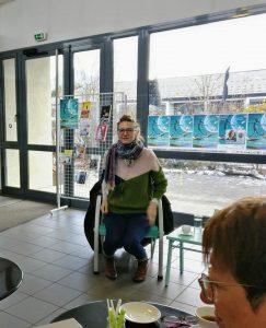 AudeDeigneLF Vougy01 243x300 - Retour sur le 26 janvier 2019 : rencontre avec Aude Seigne à Vougy