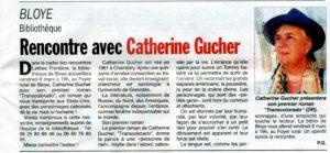 dauphine libere 2019 02 23 300x139 - Retour sur le 8 mars 2019 : rencontre de Catherine Gucher à Bloye