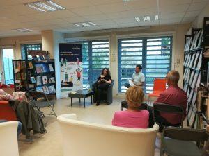 photo Facebook Bimag 300x225 - Retour sur le 7 juin 2019 : rencontre avec Marina Skalova à Ambilly
