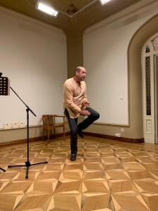 """Eugene2 225x300 - Du 26 septembre 2019 au 19 janvier 2020 : tournée d'Eugène pour son roman """"Ganda"""""""