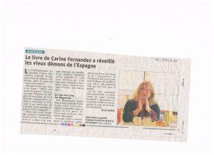 article du 19 02 19 Copie e1567504895419 300x218 - Retour sur le 16 février 2019 : rencontre avec Carine Fernandez à Marignier