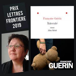Prix Lettres frontiere 2019 300x300 - Retour sur le 8 février 2020 : rencontre avec Françoise Guérin à la médiathèque de Thonon-les-Bains