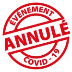 evenmt annule covid 150x150 - Avril 2021 : annulation des rencontres avec les auteurs de la 27e Sélection 2020