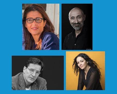 4auteurs23 02 - Mardi 23 février à 18h30 : rencontre numérique avec 4 auteurs de la 27e Sélection 2020