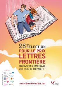 Affiche 28e Selection Prix Lettres frontière 2021 2 212x300 - 5 mai : annonce de la 28e Sélection du Prix Lettres frontière 2021 !