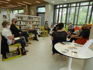 DSCN6548 300x225 - Retour sur la rencontre avec Olivier Papaux à la Bibliothèque de Saint-Cergues