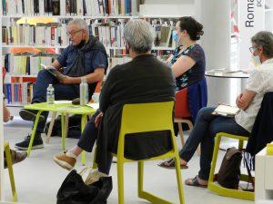 DSCN6551 300x225 - Retour sur la rencontre avec Olivier Papaux à la Bibliothèque de Saint-Cergues
