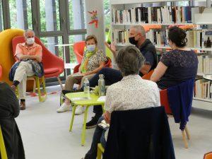 DSCN6554 300x225 - Retour sur la rencontre avec Olivier Papaux à la Bibliothèque de Saint-Cergues