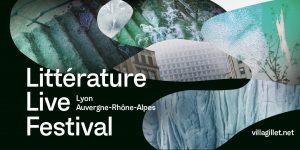 LittLiveFestival 300x150 - Du 25 au 30 mai 2021 : les Assises internationales du roman à Lyon deviennent le Littérature Live festival